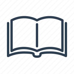 book, education, knowledge, library, open, pages, study icon