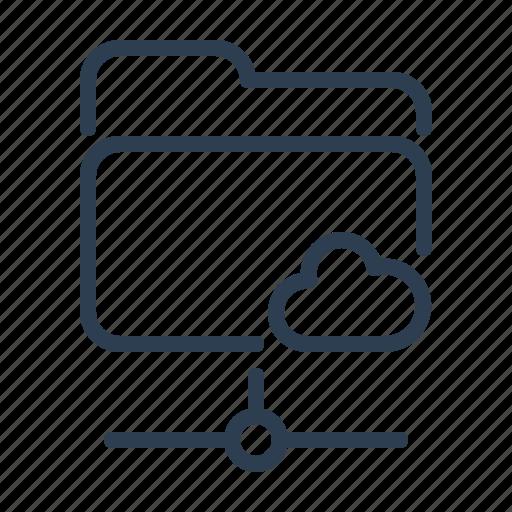 Documents, files, folder, online, public, shared, storage icon - Download on Iconfinder