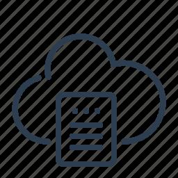 backup, cloud computing, data storage, database, server, share, sharing icon
