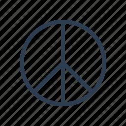calm, dream, hippy, love, no war, peace, world icon
