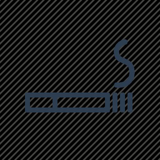 ash, cigar, cigarette, lit, sign, smoke, smoking icon