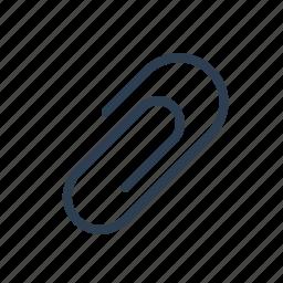 attach, attachment, clip, collate, fastener, include, paperclip icon