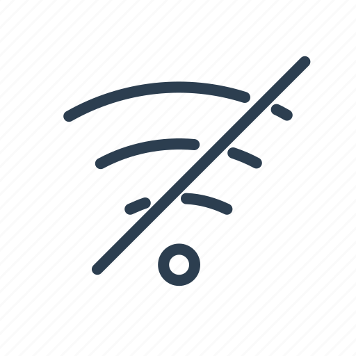 connection, hotspot, network, no, signal, wi-fi, wifi icon