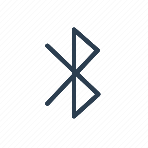bluetooth, connection, feature, port, share, signal, wireless icon