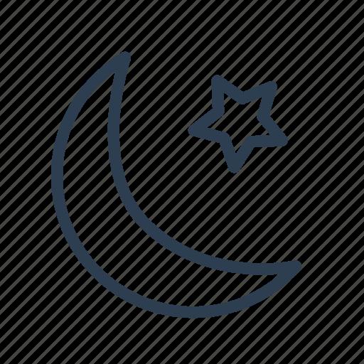 eslamic, islam, moon star, mosque, muslim, religion, religious icon