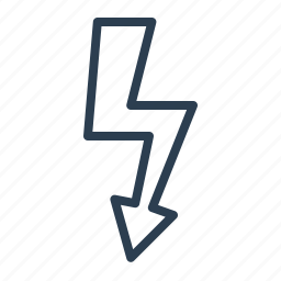 bolt, charge, electricity, energy, flash, lightning, power icon