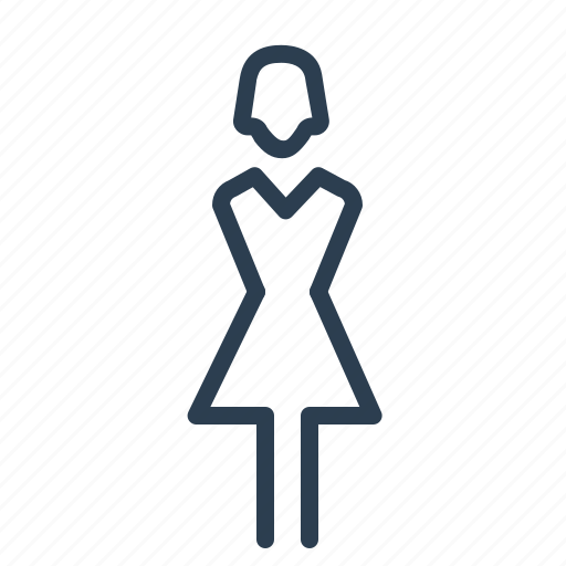 female, girl, human, lady, sex, she, woman icon