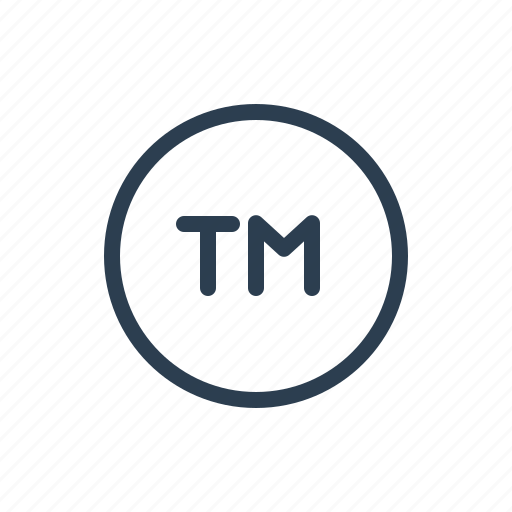 identity product service mark sign tm trade mark trademark icon