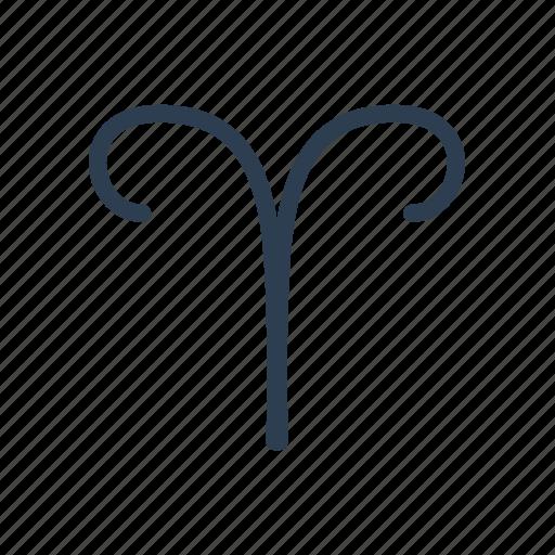 aries, astro, astrology, horoscope, zodiac icon