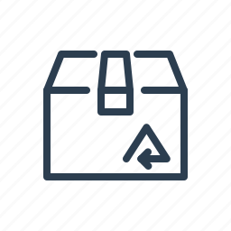 box, bundle, delivery, eco, package, shipment, shipping icon