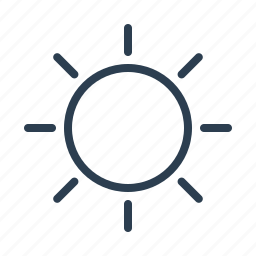 brightness, energy, glow, solar, sun, sunny, sunshine icon