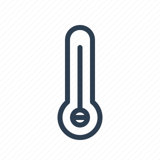 forecast, high, hot, measurement, temperature, termometer, weather icon