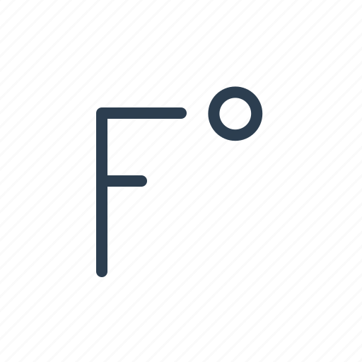 degree, degrees, fahrenheit, forecast, temperature, termometer, weather icon