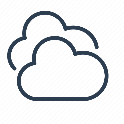 cloud, clouds, cloudy, forecast, precipitation, sky, weather icon