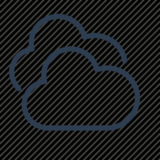 cloud, clouds, cloudy, forecast, precipitation, sky, weather icon