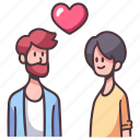 couple, love, homosexual, gay, male, boyfriend, lgbt