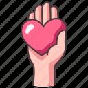 heart, love, care, help, giving, hope, charity