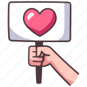 heart, protest, love, people, hand, justice, racism