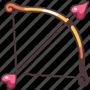 love, arrow, bow, valentine, heart, cupid, romance