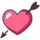 love, arrow, heart, romantic, decoration, romance, cupid