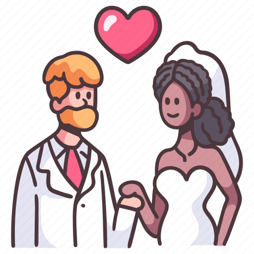 Love, heart, valentine, couple, romance, relationship, married icon - Download on Iconfinder