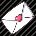 love, mail, heart, card, romance, valentine, postcard
