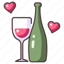 love, wine, celebration, drink, romance, wedding, party