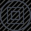 abstract, creative, design, goal, target icon