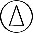 arrow, creative, point icon