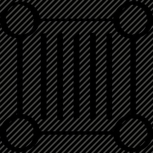 barcode, creative, edit icon