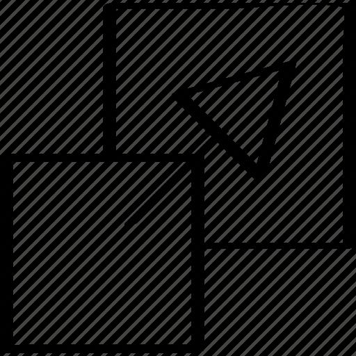 arrow, click, design icon