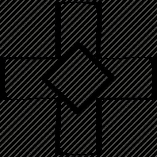 cross, denied, stop icon