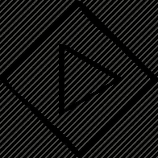 cube, go, right icon