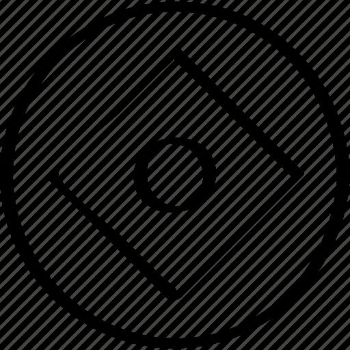 abstract, cube, design, eye icon