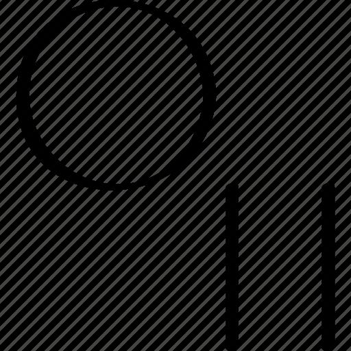 creative, design, pause icon