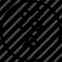 arrow, creative, design, up icon