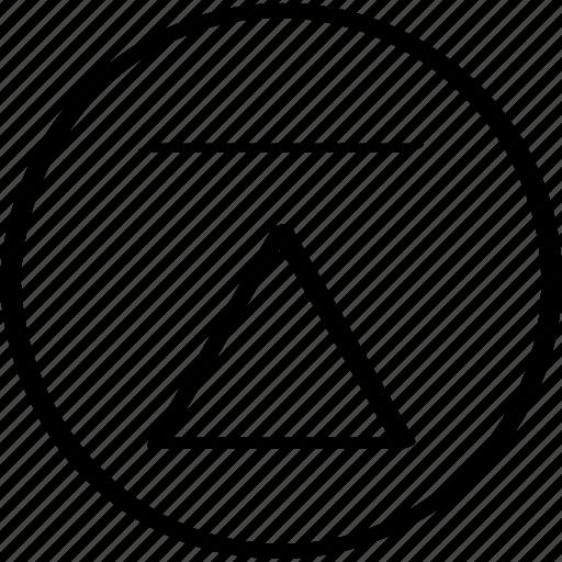 creative, point, upload icon