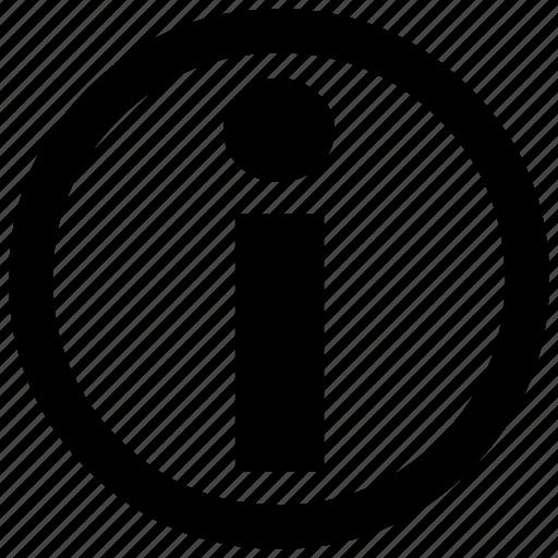 c, information icon