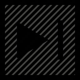 arrow, play, video, youtube icon