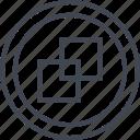 abstract, copy, creative, design, paste icon