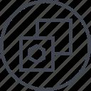 abstract, copy, creative, design, duplicate, paste icon