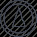 abstract, arrow, creative, cube, design, up icon