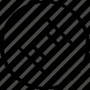 abstract, center, design, dot icon