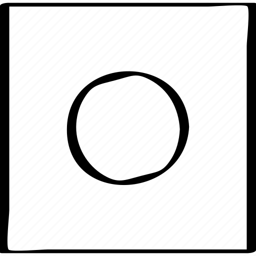 abstract, center, eye icon
