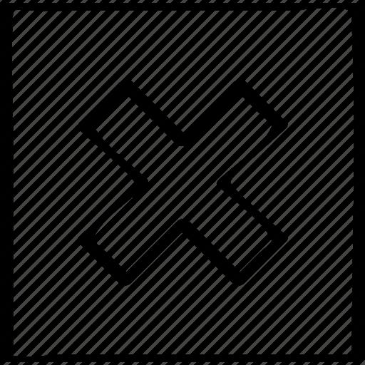 cross, design, stop icon