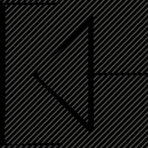 arrow, left, www icon