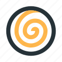 abstract, circle, figure, line, mark, spiral icon