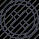 abstract, creative, delete, denied, design, shape, stop icon