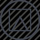 abstract, arrow, creative, design, shape, triangle, up icon