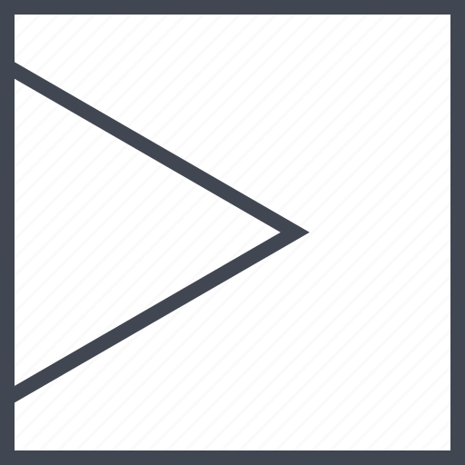 abstract, arrow, design, point, right icon
